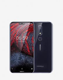 Мобилен телефон  Nokia 6.1 plus 64GB Black