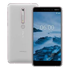 Мобилен телефон  Nokia 6.1 plus 64GB White