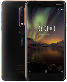 Мобилен телефон Nokia 6.1 2018 DS 32GB black