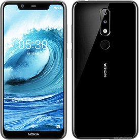 Мобилен телефон Nokia 5.1 Plus 32GB Black