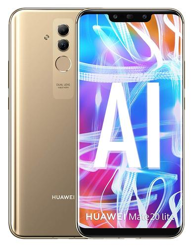Мобилен телефон Huawei Mate 20 lite 64GB Gold DS